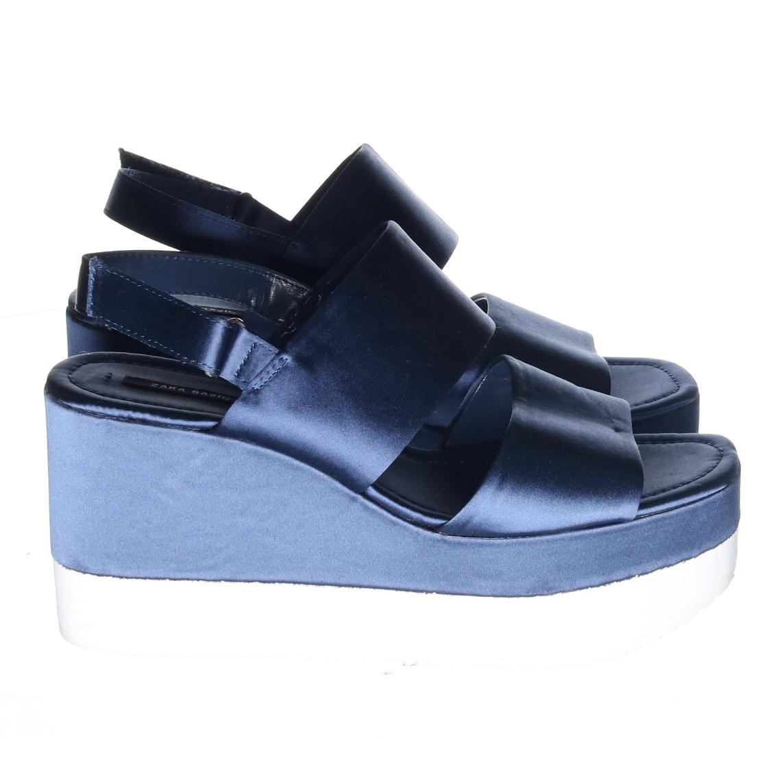 Skor (Blå) från Zara Basic  15264a733a9c0