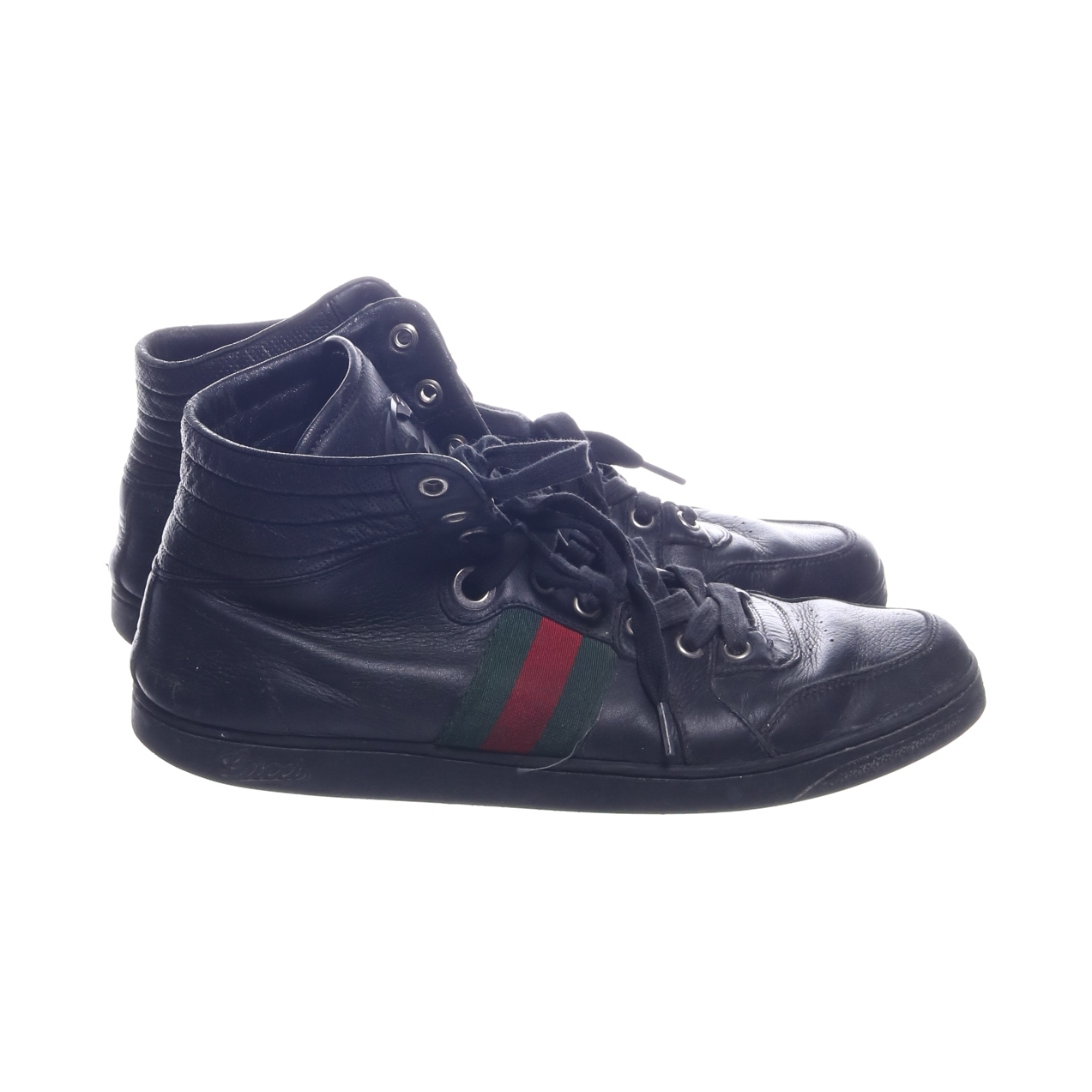competitive price 2ae9b 96540 Sneakers (High Top Web Stripe) från Gucci   Sellpy.se