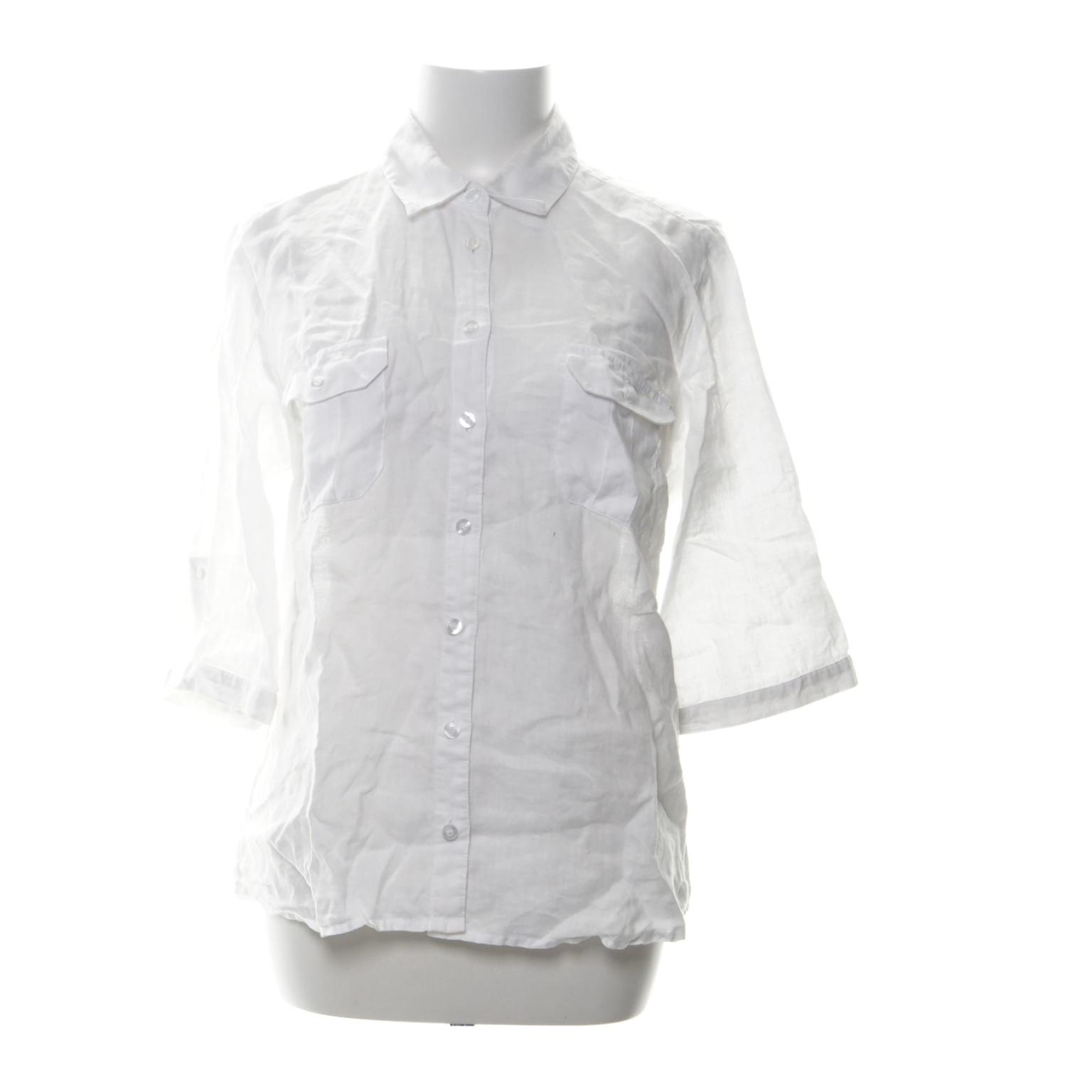 Kortärmad Skjorta (Vit) från H M Trend  7fc639f09fcc1